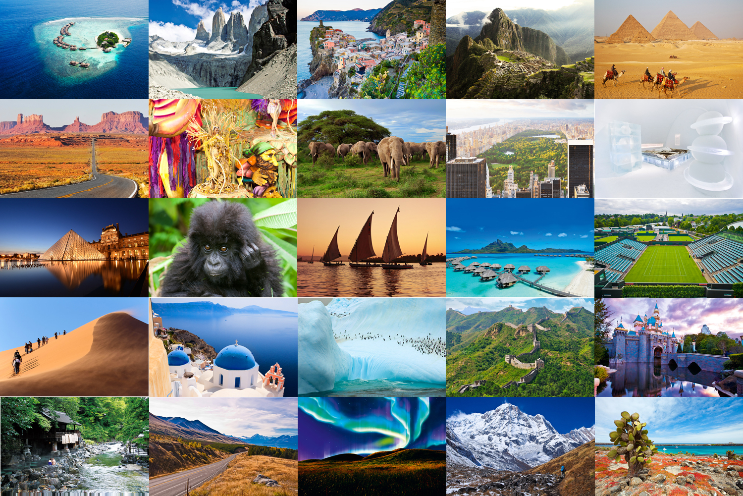 Discover the Majestic Destinations Worldwide with Your Family!