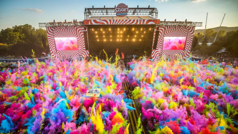 Enjoy at the Exceptional Sziget Festival!