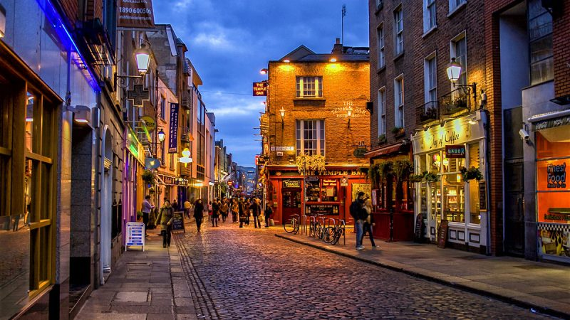 Travel to Ireland's Most Loved Destination: Dublin!