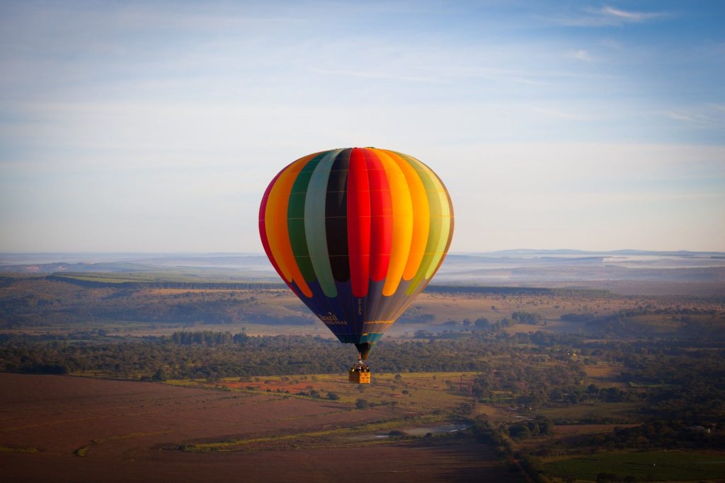 Jaipur, The Pink City : The Hot Air Balloons Ride in Jaipur: A Must Try
