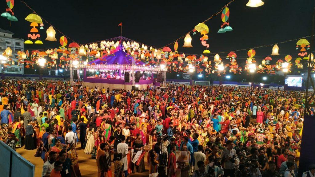 Colors of Garba/ Dandiya in Navratri