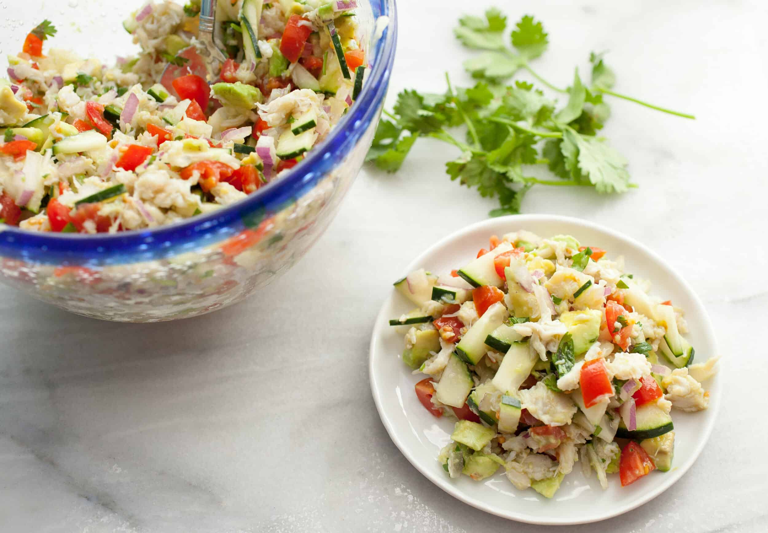Check out the Incredibly Yummy Avocado Salad!