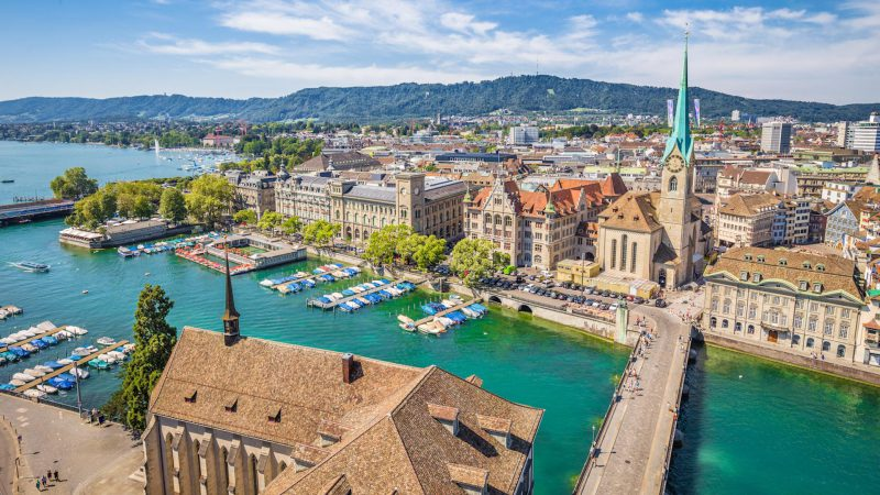 Visit Zürich, Switzerland's Most Popular City!