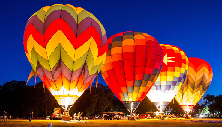 9 Top Places in India for Hot Air Balloon Ride
